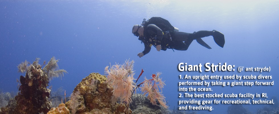 Giant Stride Dive Shop